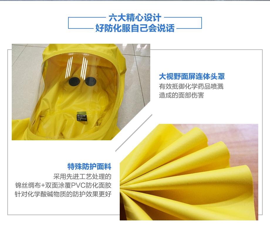 海固2np防化服包装