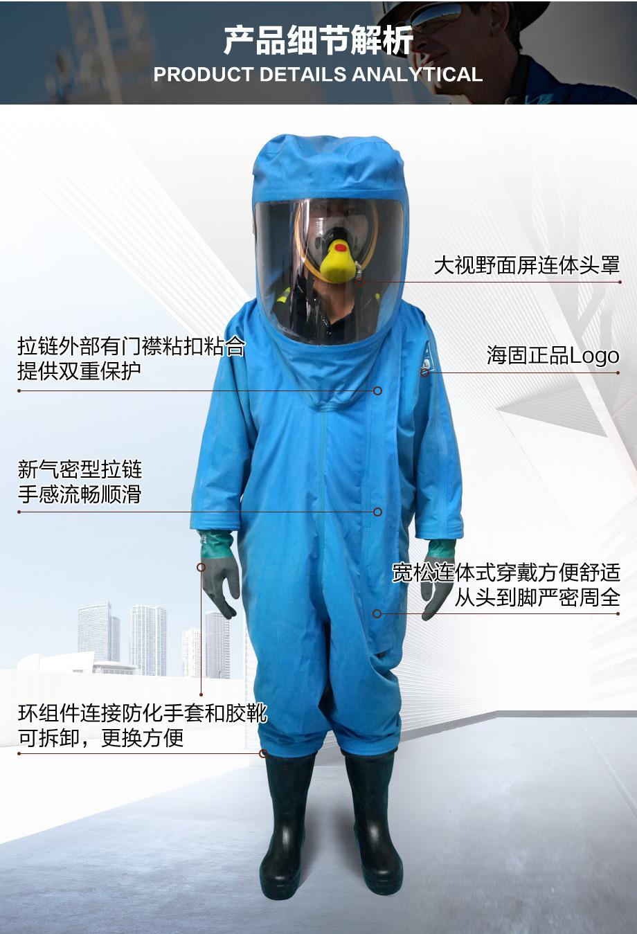 海固3nl防化服包装